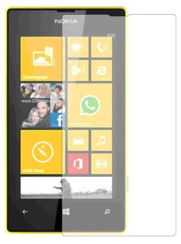 Membrane 3 x Protector de Pantalla compatibles con Nokia Lumia 520 - Ultra Transparente 1