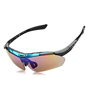 Unisex polarized sunglasses outdoor sports sunglasses anti-sandstorm riding glasses YJ-001