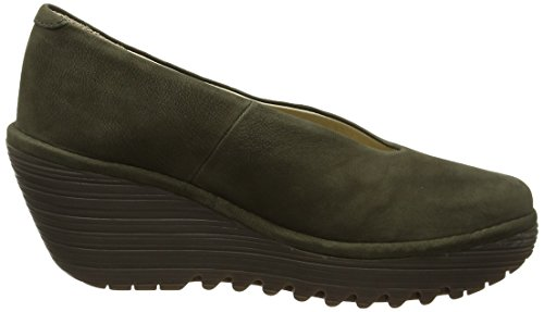 FLY London Damen Yaz Wedges Grün (Seaweed)