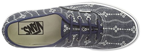 Authentic Indigo Mood Blanc Blanc De Vans nHzpTwxn