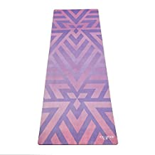 The Combo Yoga Mat. Luxurious, Non-slip, Mat/Towel Designed to Grip Better w/ Sweat! Two Products in One. Machine Washable, Eco-Friendly. Ideal for Hot Yoga, Bikram, Ashtanga, or Sweaty Practice.