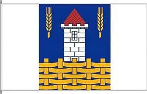 Mesa banderitas KLIX büll–Soporte para banderas de mesa de cromo