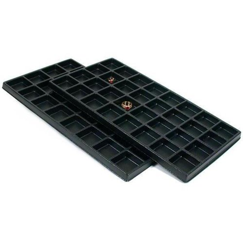 (FindingKing SE Black Liner Tray, 32 Section (2 Pk))