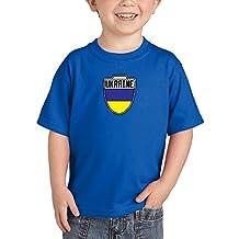 HAASE UNLIMITED Toddler/Infant Ukraine Ukrainian - Soccer T-Shirt