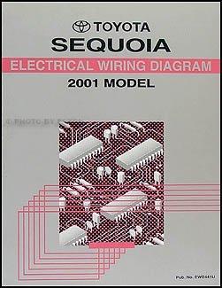 2001 toyota sequoia wiring diagram manual original toyota amazon rh amazon com wiring diagram for 2003 toyota sequoia 2001 Toyota Sequoia Problems