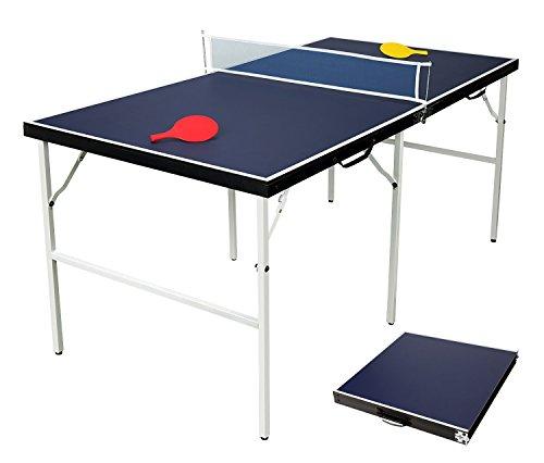HLC 85.5*84.5*10 CM Klappbare Tischtennisplatte Indoor
