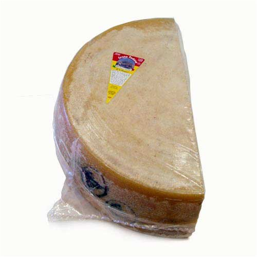 Grana Padano Aged 16 Months - Quarter Wheel - 18 Pound Average by Gourmet Food Store