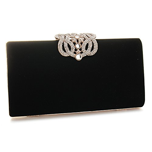 Noir Pochette pour femme Multi color UNYU clutch evening qUTxT08
