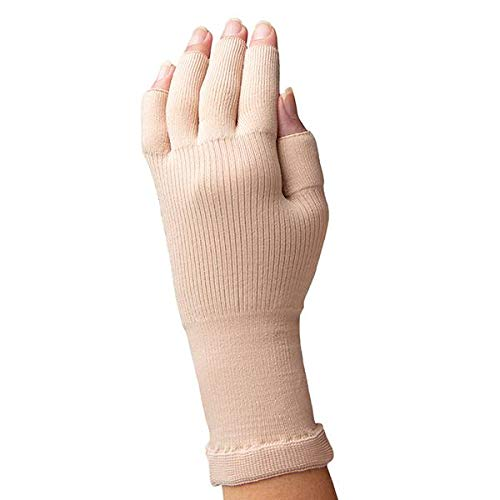Sigvaris Secure 561 Lymphedema Glove - 15-20 mmHg Cocoa Small 561FS84