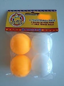 4 Tischtennis-Bälle HP