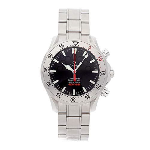 Omega Seamaster Mechanical (Automatic) Black Dial Mens Watch 2595.50.00 (Certified Pre-Owned)