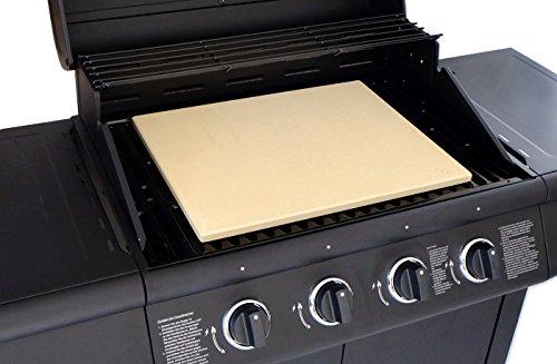 vesuvo v45351 pizzastein xxl f r gro e grills aus cordierit bis 1000 grad ebay. Black Bedroom Furniture Sets. Home Design Ideas