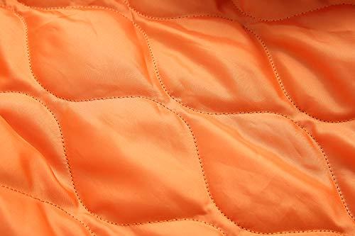 Piel De Jsix Cuello 3 Color Gruesa parka Invierno Chaqueta Encapuchada Para Mujer Abrigo Abrigo Algodón CzACqH