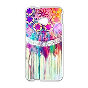 Creative Colorful Pattern Fahionable And Popular Back Case Cover For HTC One M7