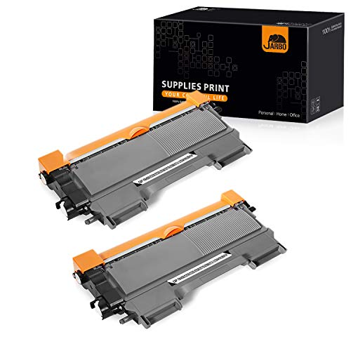JARBO Compatible TN450 TN-450 TN420 TN-420 Toner Cartridge, for Brother TN450 TN420 (2 Black, High Yield), Use with Brother HL-2270DW HL-2280DW HL-2230 HL-2240 HL-2240D MFC-7860DW MFC-7360N DCP-7065DN