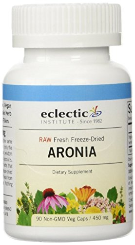 Eclectic Institute Aronia Berry Freeze-Dried (450 mg) - 90 vcaps (Pack of 2)