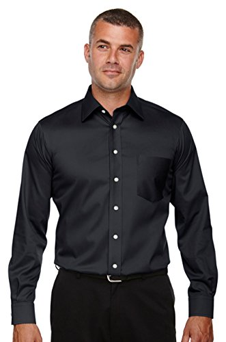 Devon & Jones Men's Tall Crown Collection Stretch Twill, Navy, XXX-Large Tall - Devon And Jones Twill Shirt