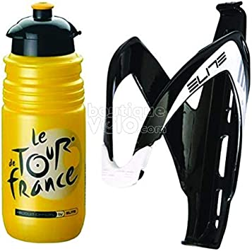 Elite Kit bidón y portabidón para bicicleta Tour de France: Amazon ...