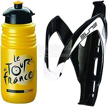 Elite Kit bidón y portabidón para bicicleta Tour de France: Amazon ...