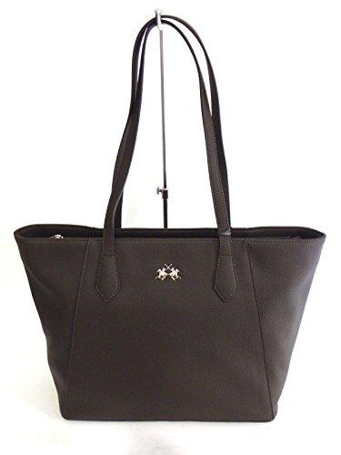 BORSA LA MARTINA SHOPPING BAG RACHELE 41W106K0013 LIGHT TAUPE