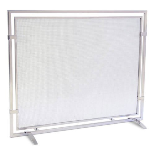 (Pilgrim Single Panel Sinclair Screen - Polished Nickel)