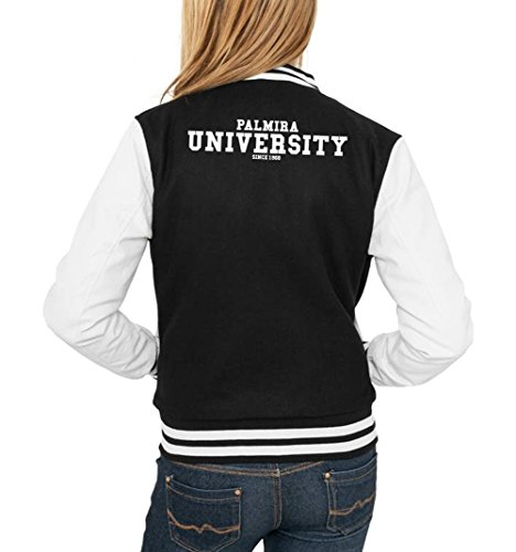 Palmira University College Vest Girls Negro Certified Freak