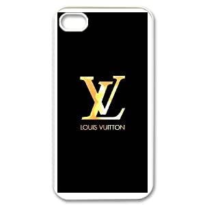 Exquisite stylish Louis with Vuitton phone protection shell iPhone 4,4S Cell phone case for LV Logo pattern personality design