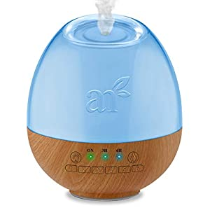 White Noise Machine & Essential Oil Diffuser 2-in-1 Aromatherapy Sleeping Sound Machines Best for Baby, Kids & Adults – 300ml Tank Aroma Therapy Scent Maker w/ 6 Calming Sleep Sounds & LED Night Light