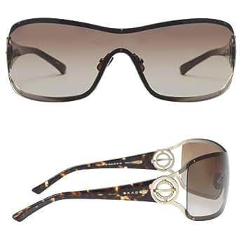 SKAGEN Gold Tone Shield Sunglasses