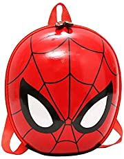 MTGH Hardshell Large Capacity Avengers Spiderman Backpack for Toddlers Baby Suitable for 2-6Y