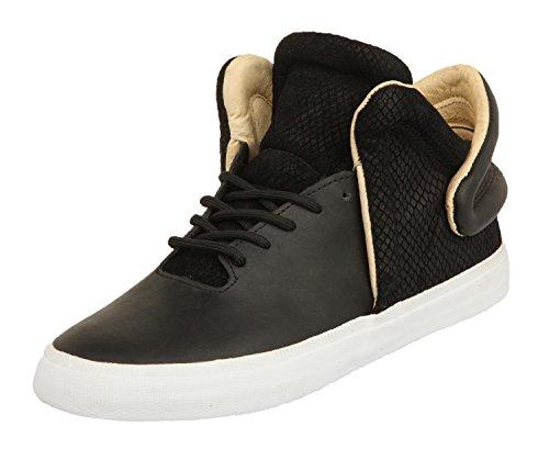 Supra Men Black-White Falcon Black-White S78010, Size Herren Schuhe:45