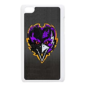 Baltimore Ravens Team Logo iPod Touch 4 Case White persent zhm004_8587077