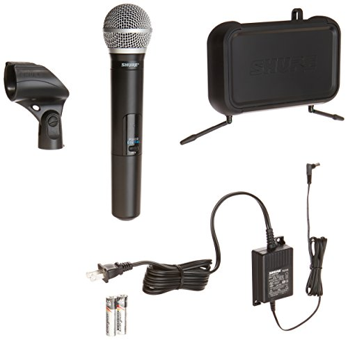 (Shure PGXD24/PG58-X8 Digital Handheld Wireless System with PG58 Vocal Microphone)