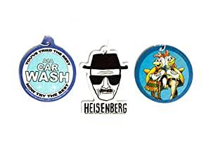 Breaking bad air freshener set of 3 for A1a facial salon equipment