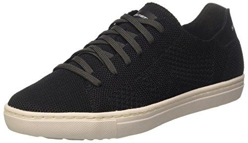 Alven Uomo Moneco Black Nero Skechers Sneaker 0B6x8Bq
