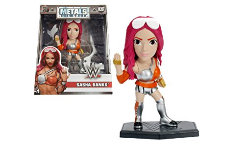 NEW 4'' JADA TOYS ACTION FIGURE COLLECTION - WWE SASHA BANKS (M207) Action Figures By Jada Toys by ACTION FIGURE By JadaToys
