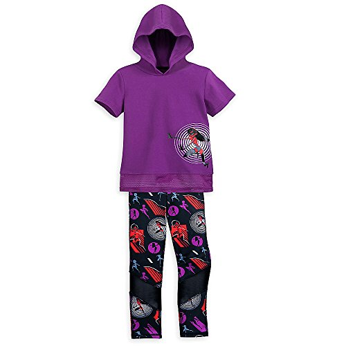 Disney Pixar Incredibles 2 Hooded Top and Leggings Set for Girls Size 7/8