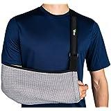 Think Ergo Arm Sling Sport - Ergonomic, Lightweight, Breathable Mesh, Neoprene Padded Strap