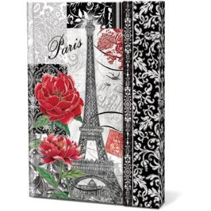 Punch Studio, Journal with Magnetic Flap Clasp Closure - Belle (Magnetic Flap Journal)