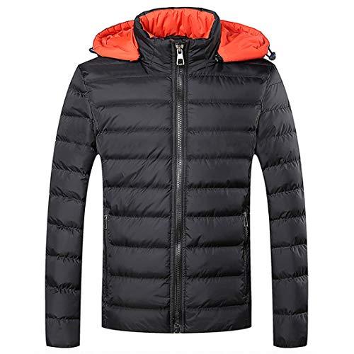 Cotton Soft Thickening Teenager Warm Cotton Youth Winter Coat Windproof Outwear MU Light Men's Clothing Outdoor CHAO Jacket Man Black Ultra tOwxgAq
