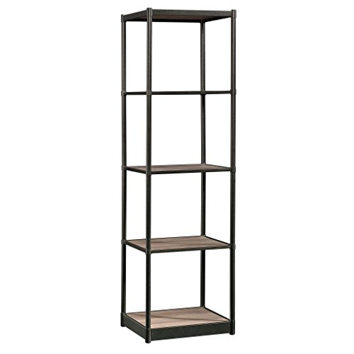 Collection Barrister Bookcase - Sauder 421459 Barrister Lane Tower Bookcase, Salt Oak Finish