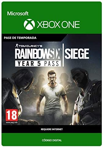 Tom Clancys Rainbow Six Siege Year 5 Pass | Xbox One - Código de ...