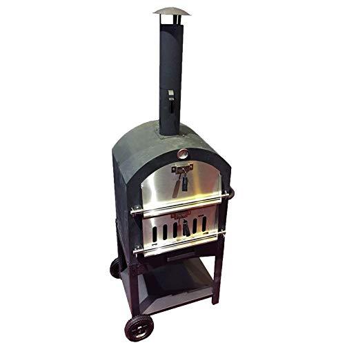 Cosmos eStore Freestanding Metal Pizza Oven Outdoor Cooking Garden Patio Kitchens