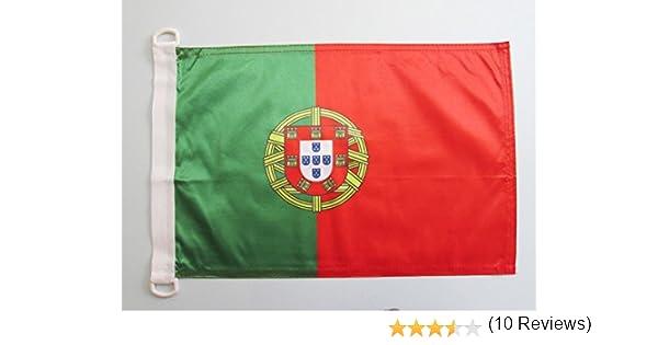 AZ FLAG Bandera Nautica de Portugal 45x30cm - Pabellón de ...