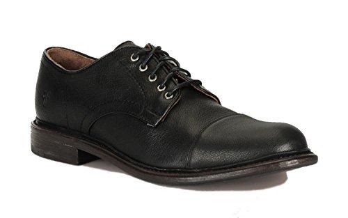 Burnished Leather Men's Frye Jack Buffalo Oxford Black BYIwx