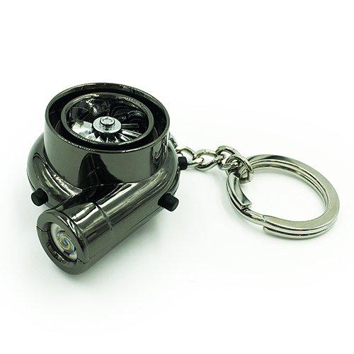 Boostnatics - Llavero con mechero eléctrico turbo con sonidos - versión 2 - color negro: Amazon.es: Coche y moto