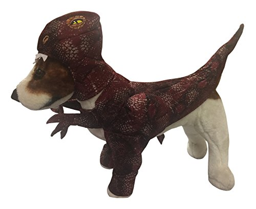Animal Planet PET20109 Raptor Dog Costume, (Dinosaur Dog Costume)