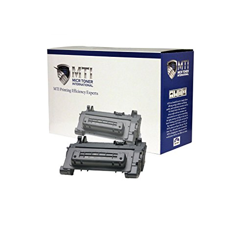 (MICR Toner International Compatible Magnetic Ink Cartridge Replacement for TROY 02-81300-001 HP CC364A 64A P4014 P4015 P4515)