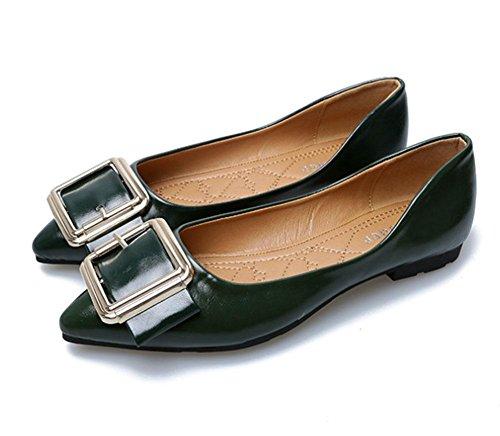 weichen Gezeigt Asakuchi MEILI Ende Schuhe 1 rutschfesten Schuhe Schnalle der wilde am wdSq8USI
