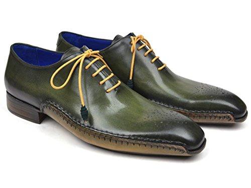 Paul Opanka Parkman Opanka Paul Construction Oxfords Green Shoes (ID#86A5-GRN) B079J7Y2Y3 Shoes 76fc5f